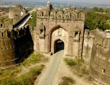 Aerial view of Rohtas Fort near Jhelum
