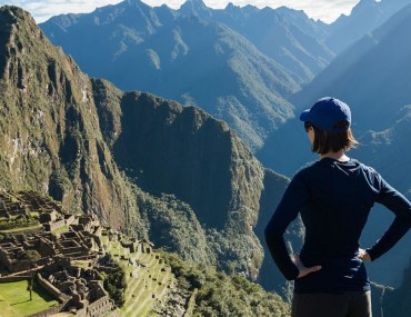 Woman travelling alone to Machu Pichu