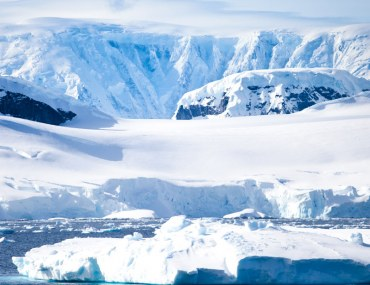 A view of the Antarctic Landscape