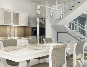 A new home interior
