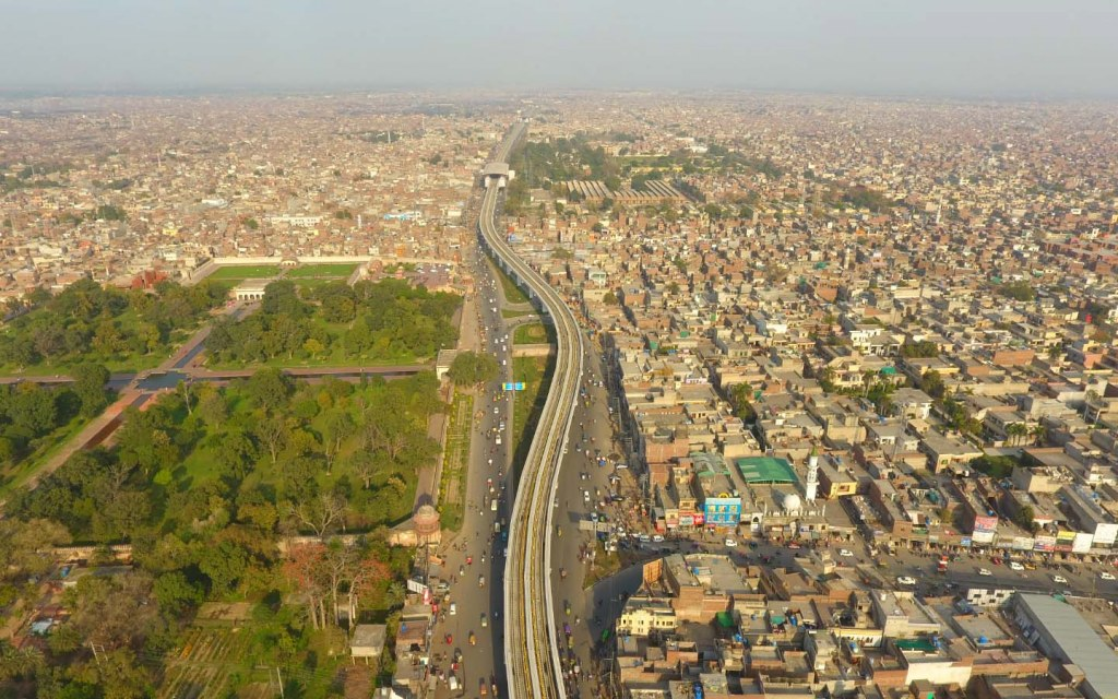 Lahore cityscape