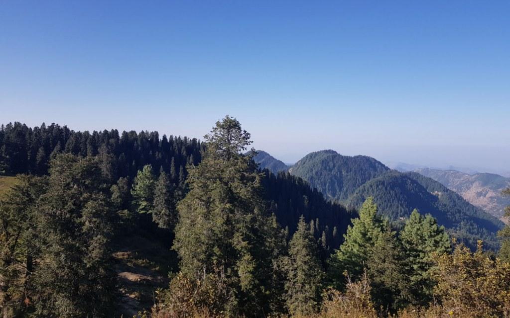 View from Mukshpuri, Nathiagali
