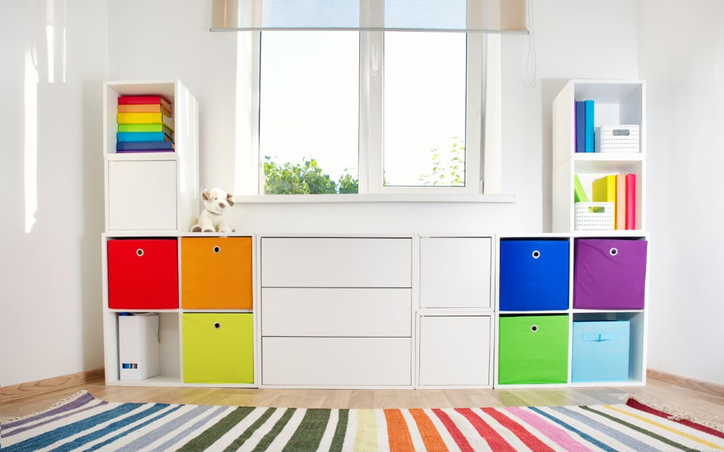 Colourful Storage Solution