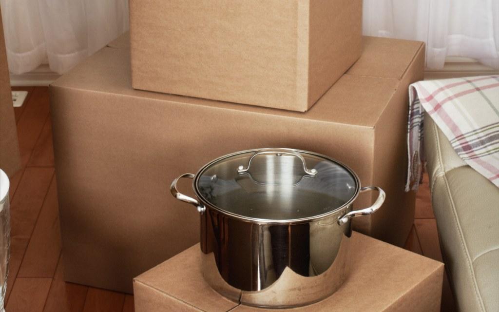 Pan on Box
