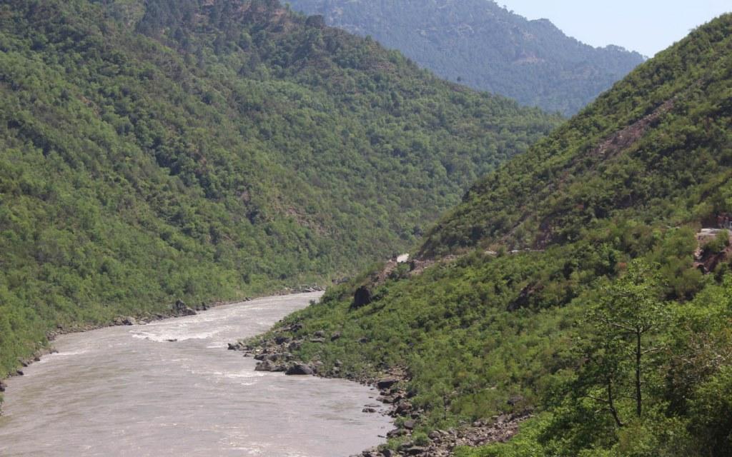 Jhelum River, AJK