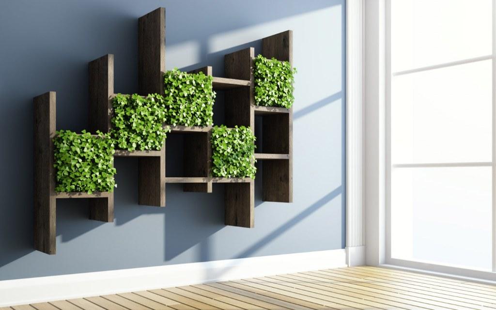 vertical garden home decor
