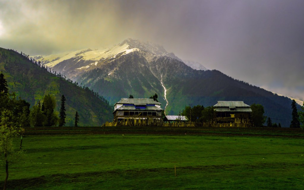 Arang Kel in Azad Kashmir northern areas of Pakistan
