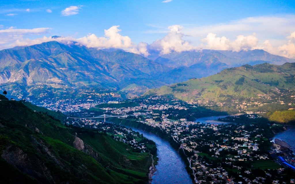 Muzaffarabad in Azad Kashmir Pakistan