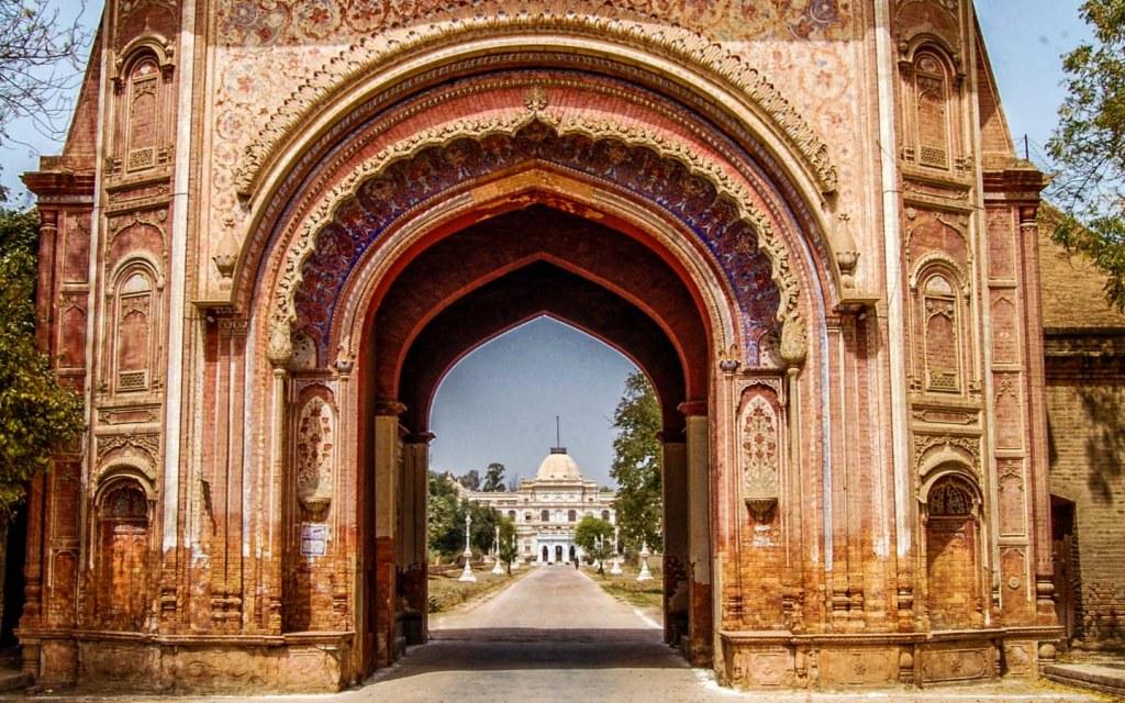 The entryway to Sadiq Garh Palace in Bahawalpur