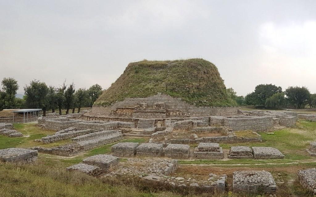 Dharmarajika Stupa, Taxila