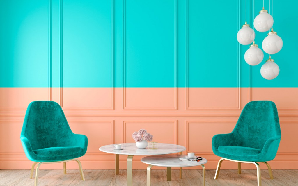 Two-Toned Wall