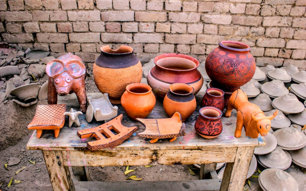 Ancient Pottery Art in Harappa