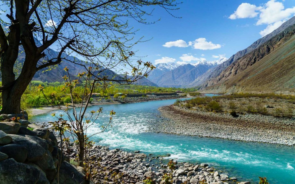 Tourist destination Phander Valley in Gilgit Baltistan