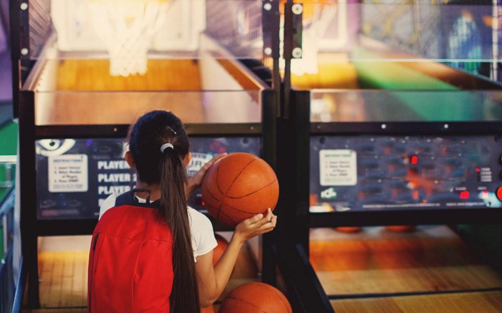 Arcade game machine indoor amusement park