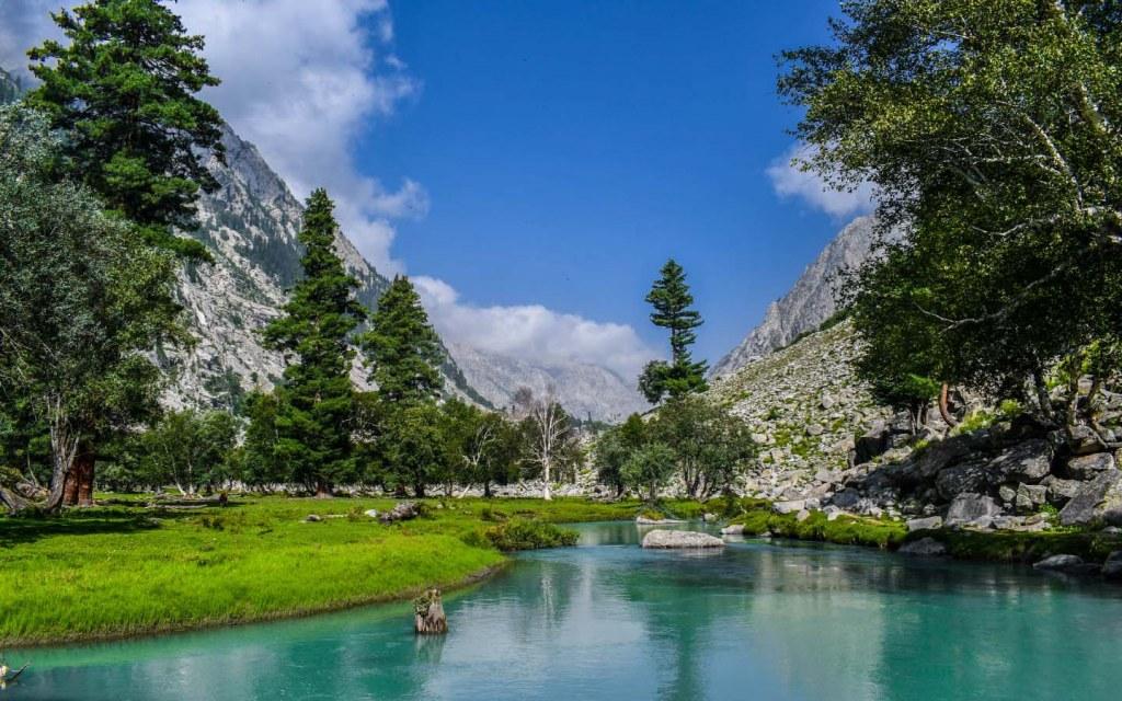 Swat Valley in Pakistan