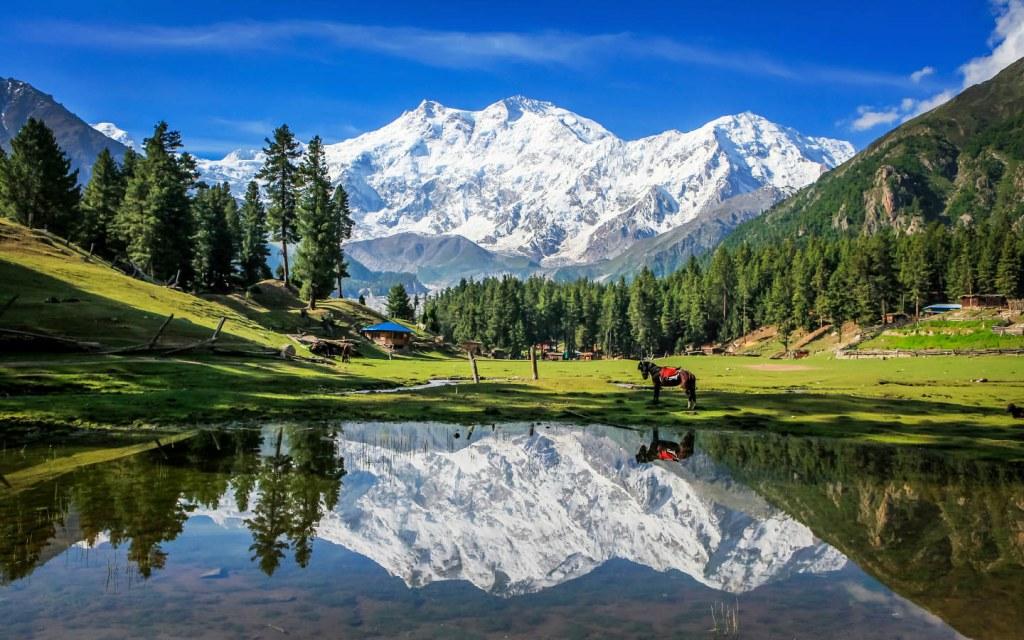 Fairy Meadows and Nanga Parbat