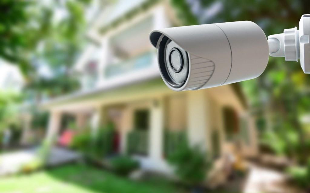 CCTV Cameras installed at a neighbourhood street
