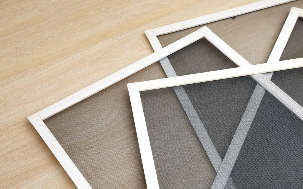 Mosquito window screens for allergy free home