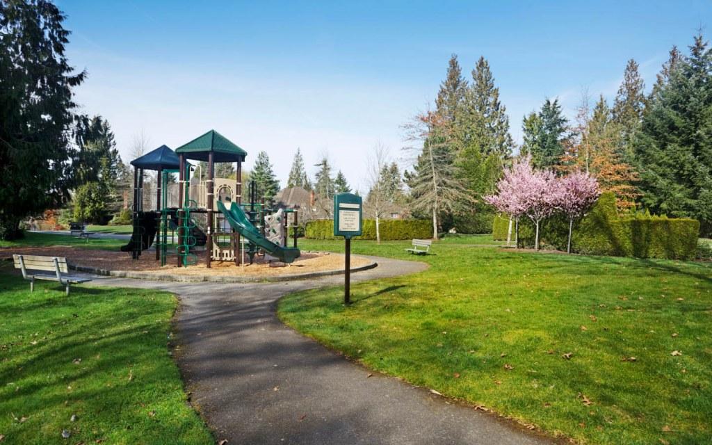 Children's play area in neighbourhood park