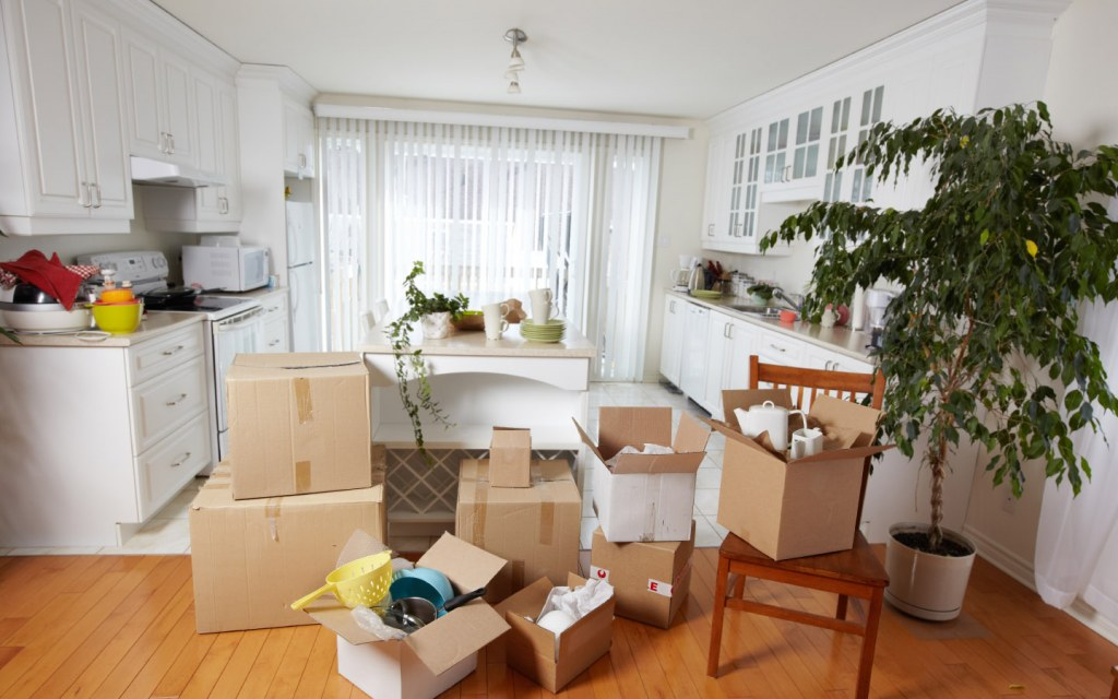 Packing a Kitchen