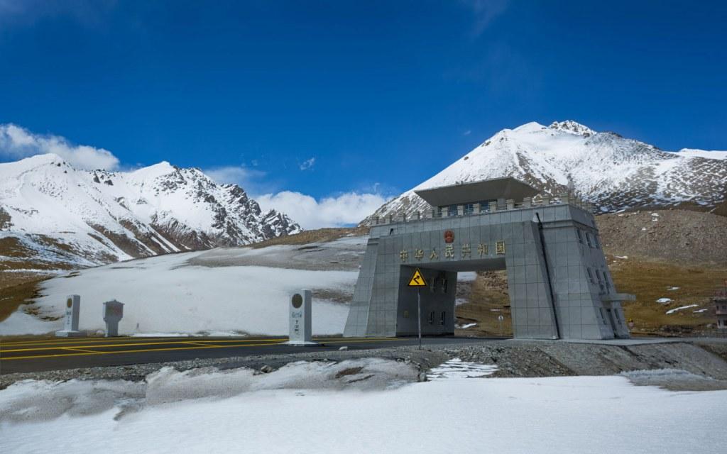 Khunjerab Pass China-Pakistan in Gilgit Baltistan