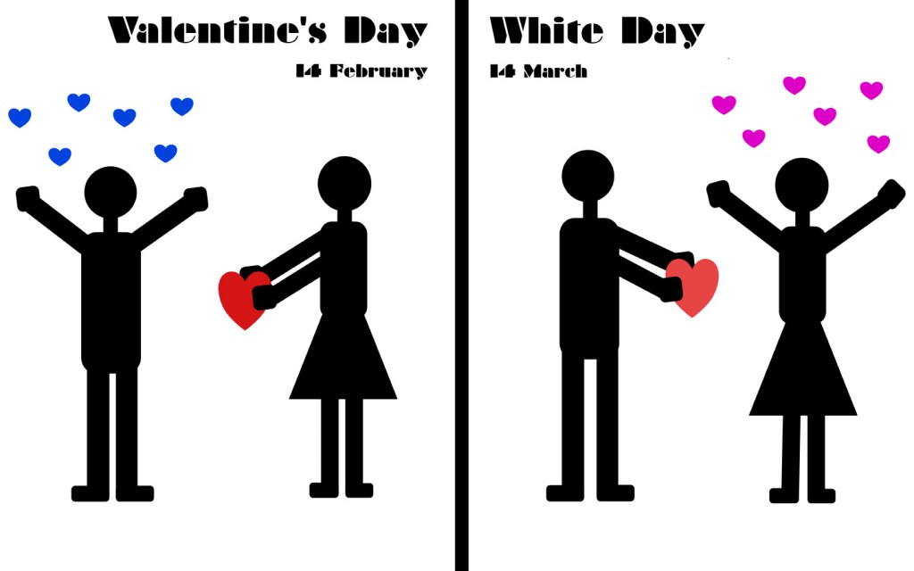 Valentine's and White Day, Japan