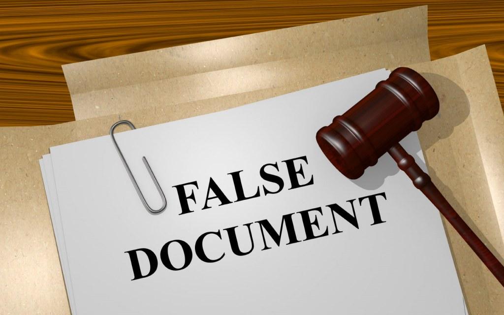 False Documentation