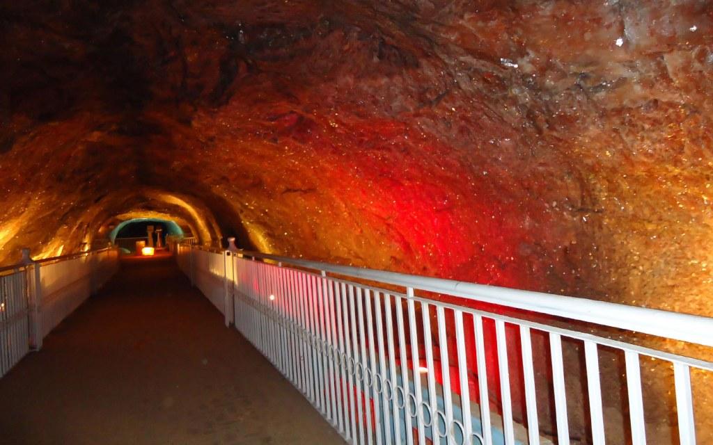 Sheesh Mahal inside Khewra Mines
