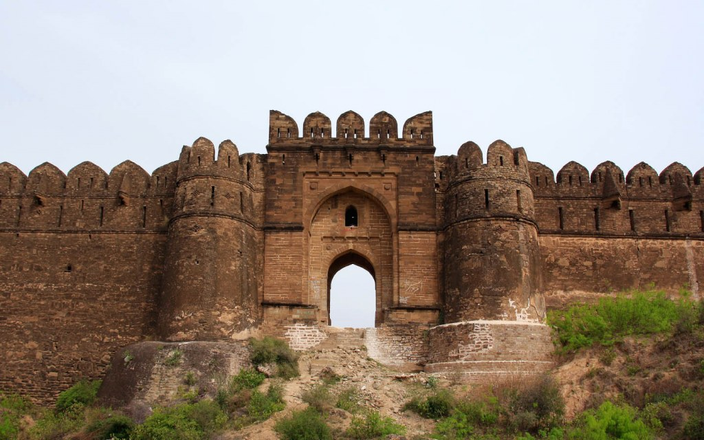 Rani gate in Rohtas Fort