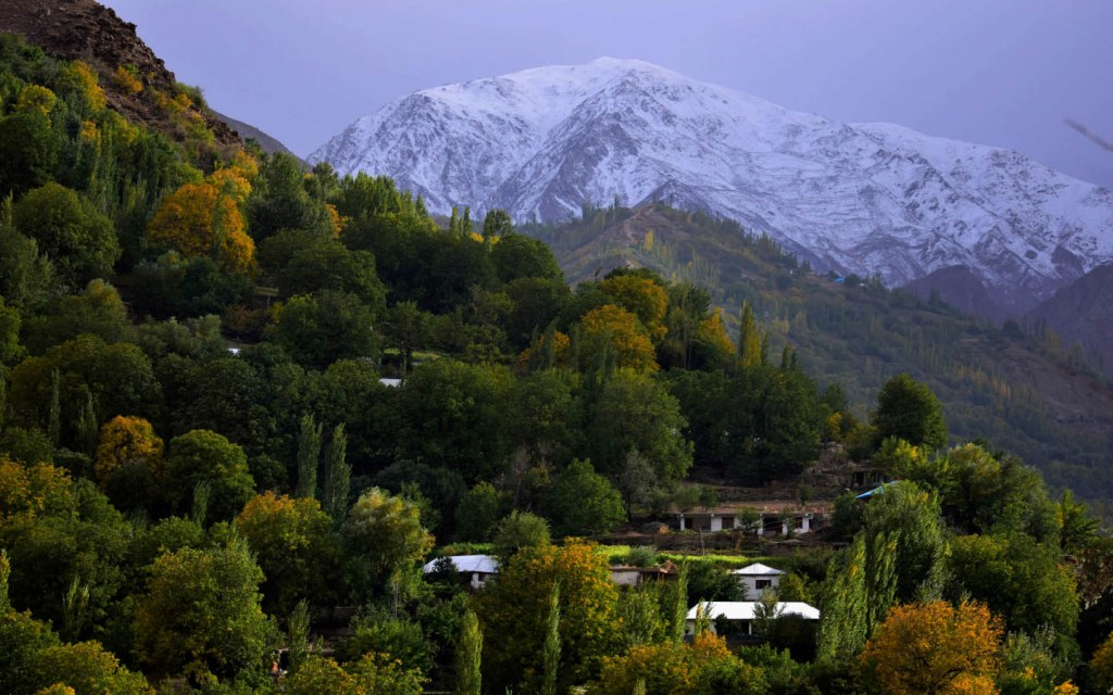 Garam Chashma in Chitral