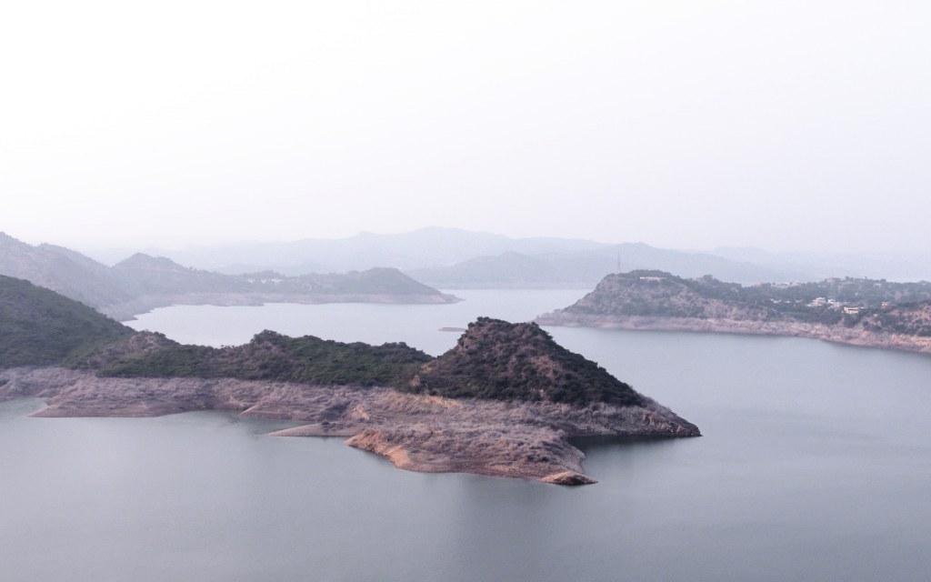 Mangla Dam Lake in AJK