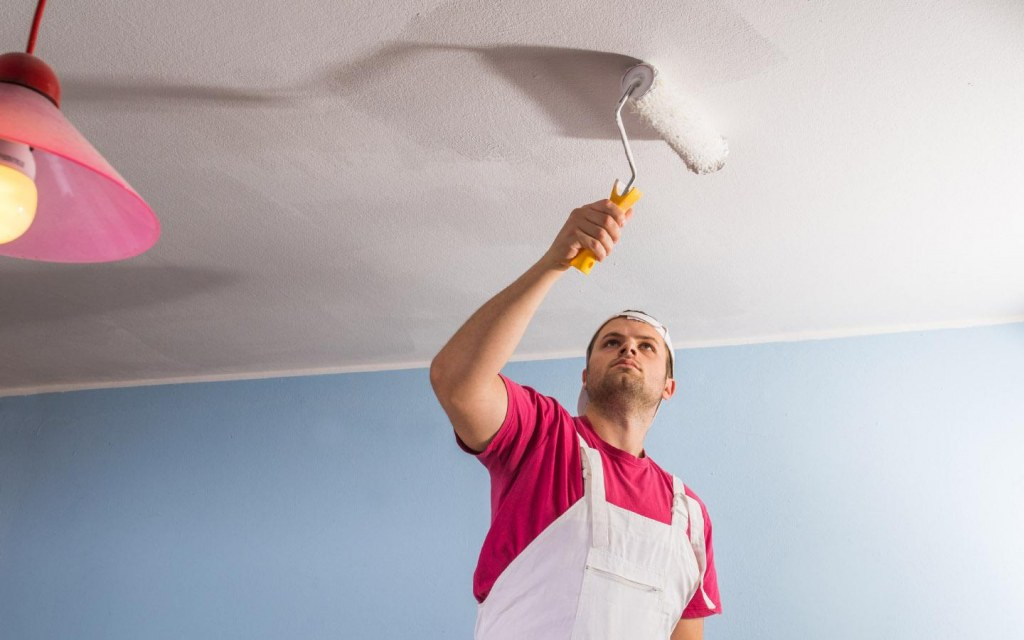 paint your bedroom ceiling