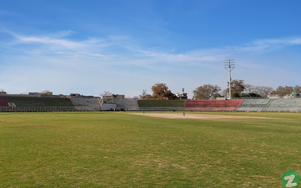 Jinnah Stadium in Gujranwala is located on Sialkot Road but shares very few characteristics with its namesake in Sialkot