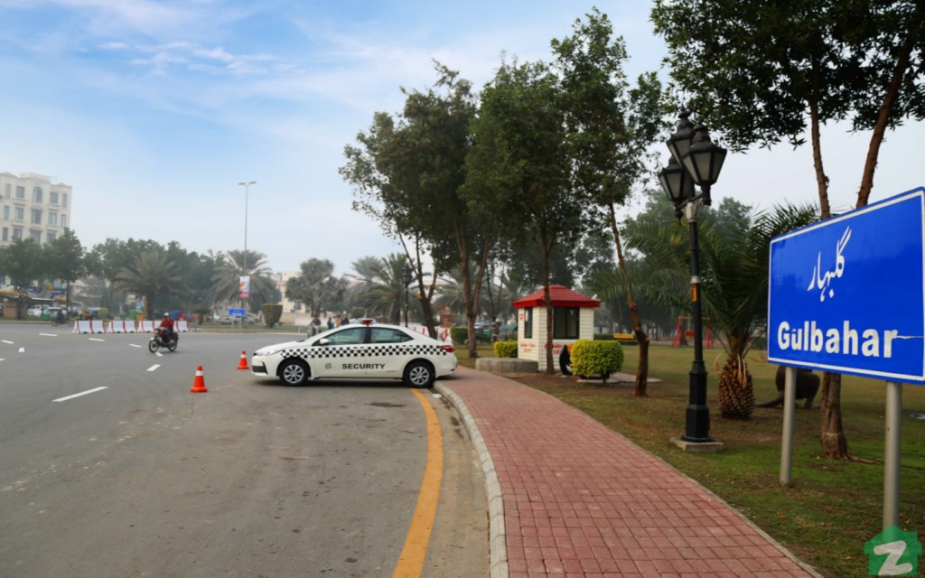 Security in Bahria Town Lahore