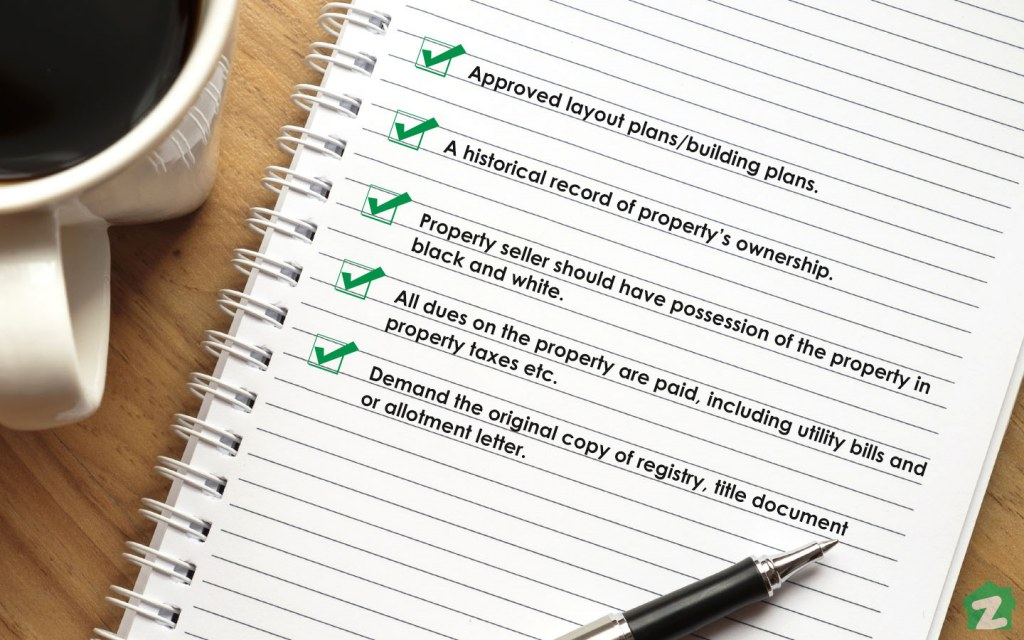 Take a close look at all the aspects before buying property