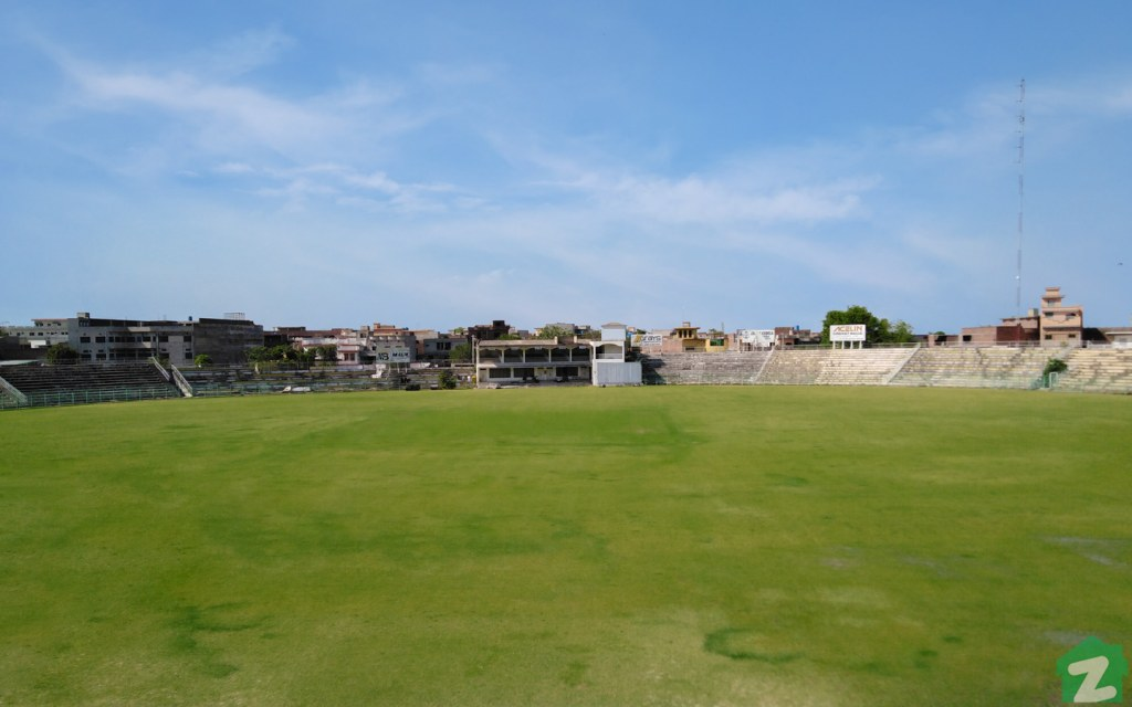 Jinnah Stadium in Sialkot is among the country's oldest stadiums