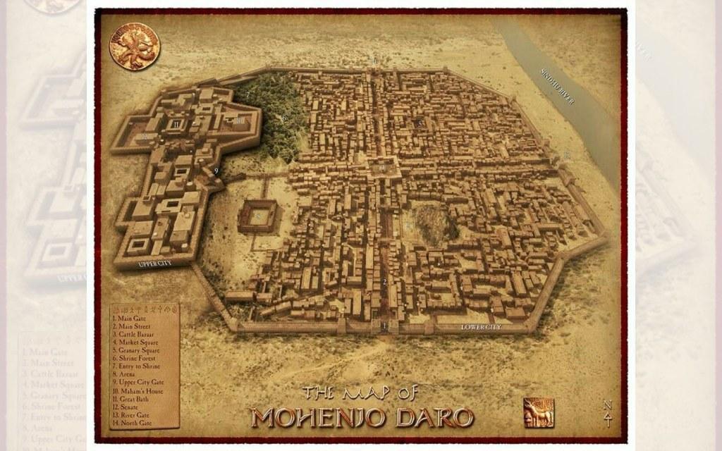 Urban Infrastructure of Mohenjo Daro