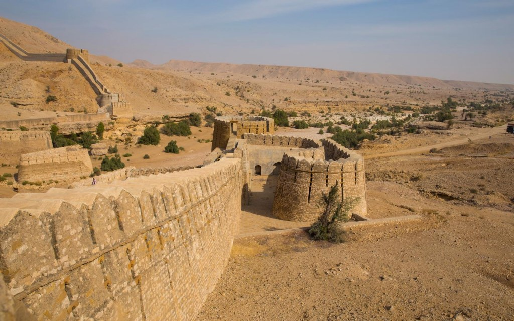 Ancient forts in Pakistan