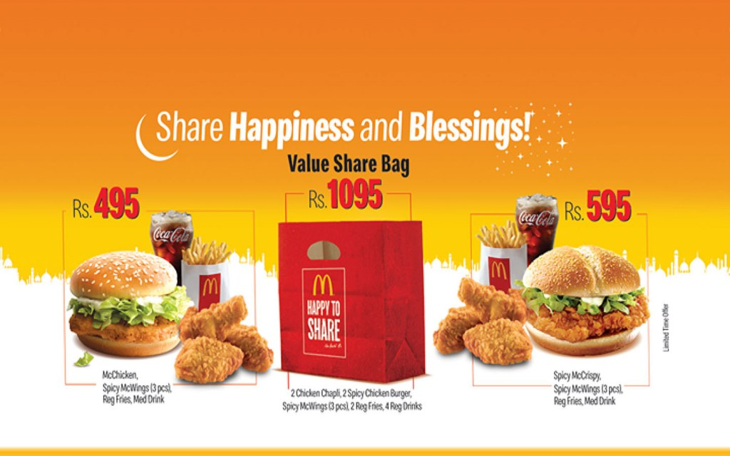 hardees lahore iftar deals 2019