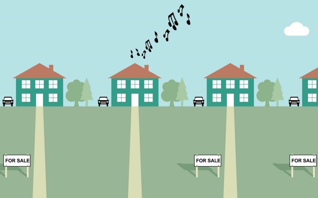 Houses Near Noisy Neighbours