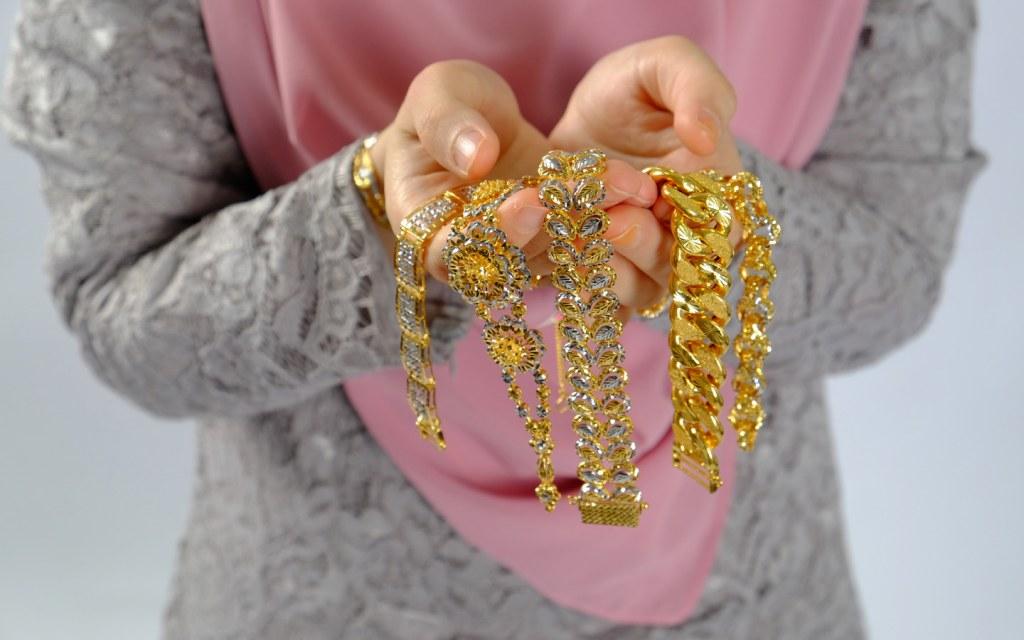 Zakat on gold jewellery