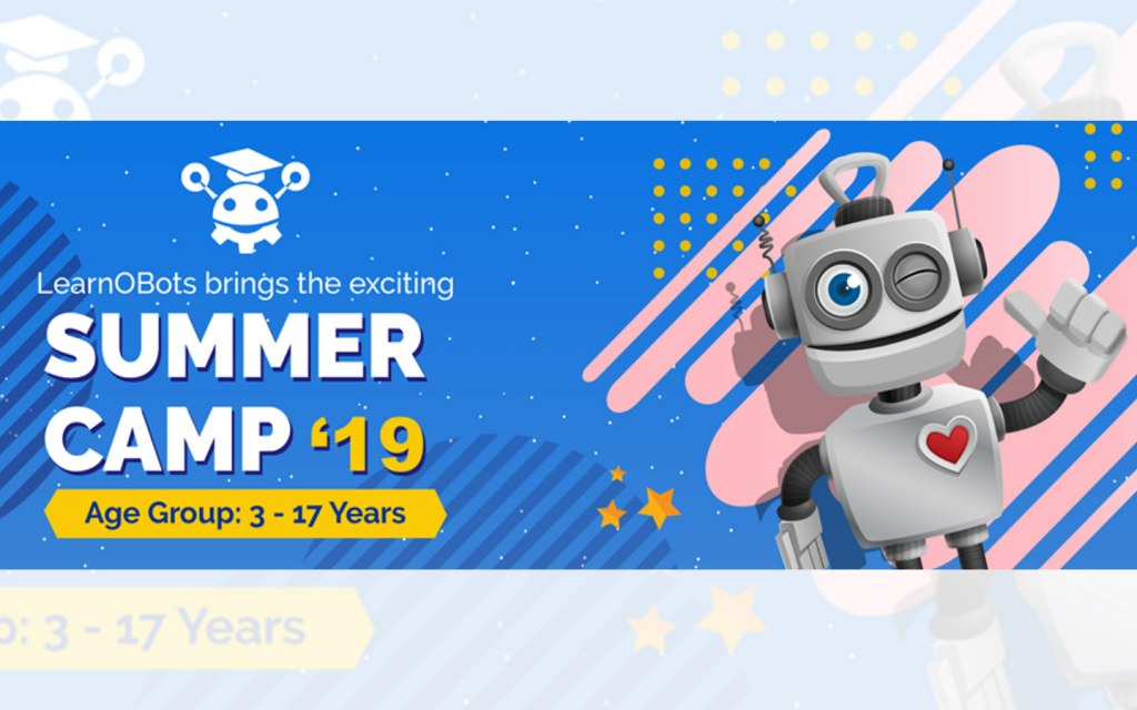 LearnOBots 2019 Summer Camp in Islamabad