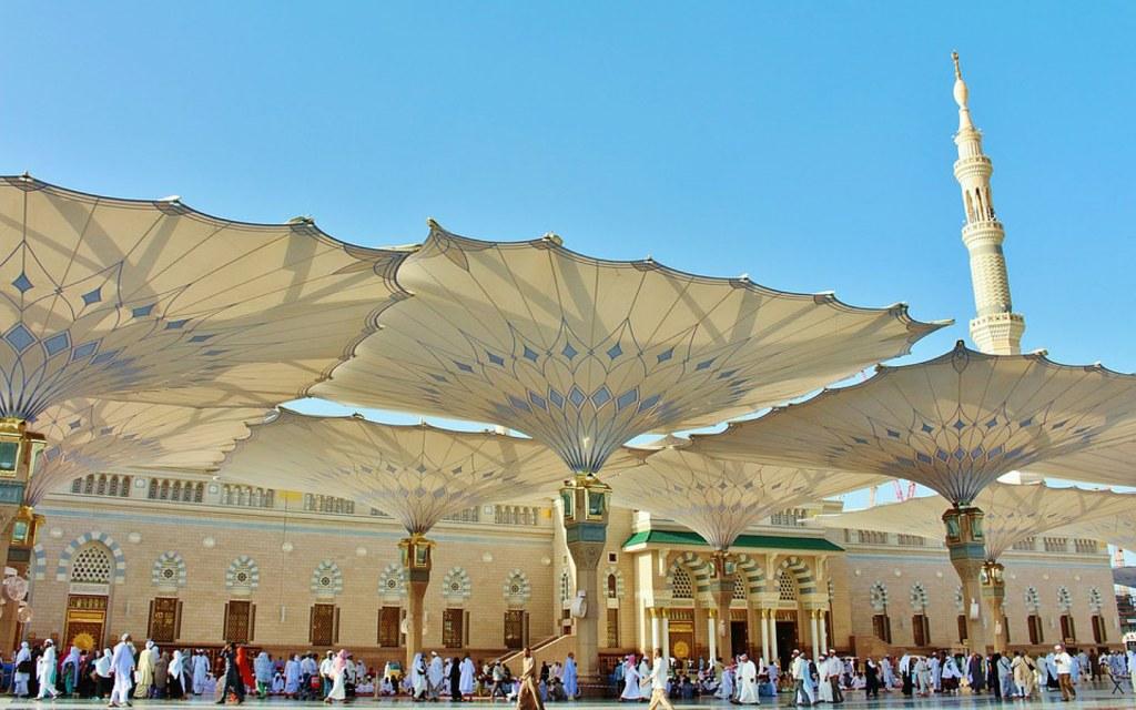 Masjid e Nabawi in Saudi Arabia