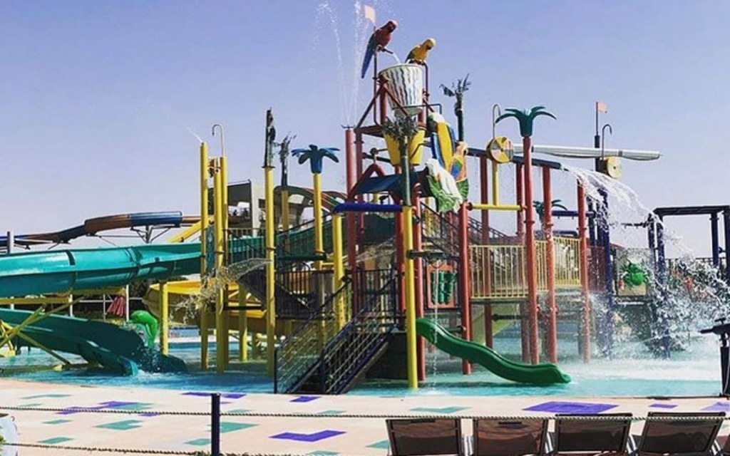 Picnic World Water Park in Karachi