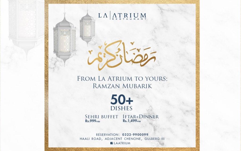 Best Sehri & Iftar Deals in Lahore for Ramadan 2019 | Zameen
