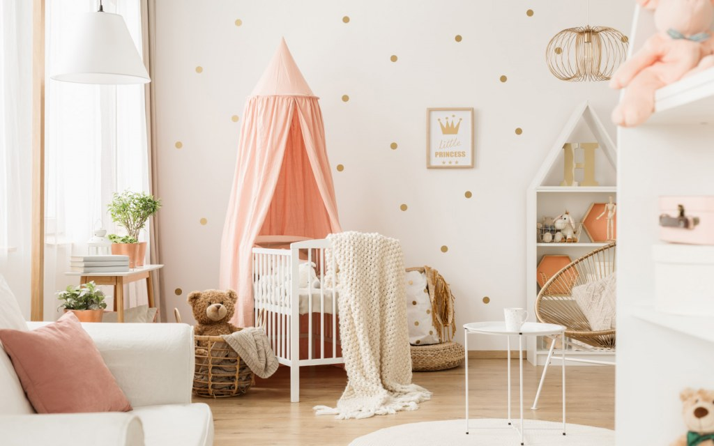 Best Nursery Décor Ideas For Baby Girls Zameen Blog
