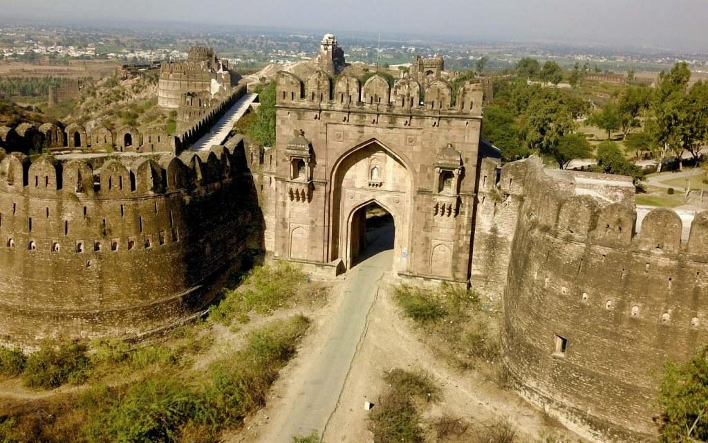 Rohtas fort in Jhelum