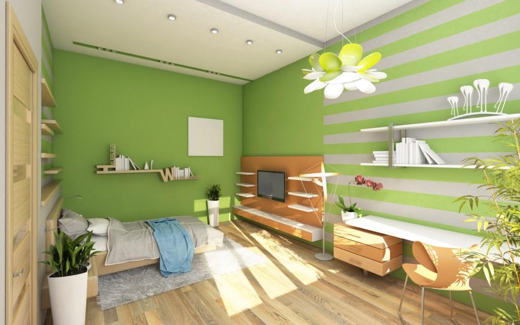 Green Bedroom Colour