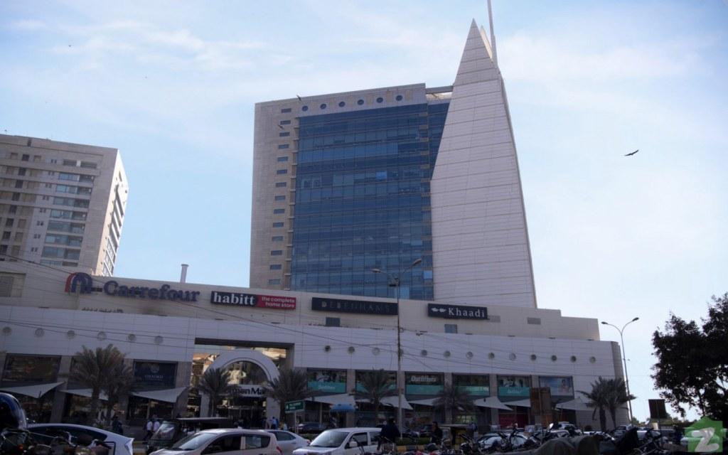 Dolmen Mall Clifton in Karachi