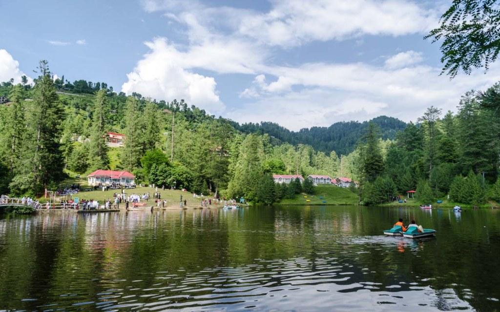 Banjosa lake near Rawalakot is a serene lake and a popular tourist destination